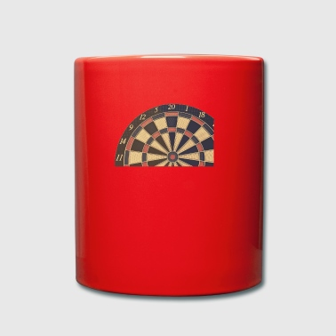 dart colored - Full Colour Mug