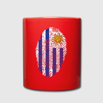 URUGUAY FINGERABPRESSION. SOUTH AMERICA SPANISH - Full Colour Mug