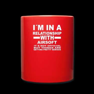relationship with AIRSOFT - Full Colour Mug