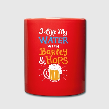 I Like My Water with Barley & Hops Gift - Mok uni