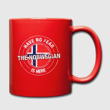 Have No Fear The Norwegian Is Here Shirt - Full Colour Mug