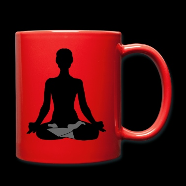 MEDITATION YOGA BUDDHA BUDDHISM T-SHIRT - Full Colour Mug