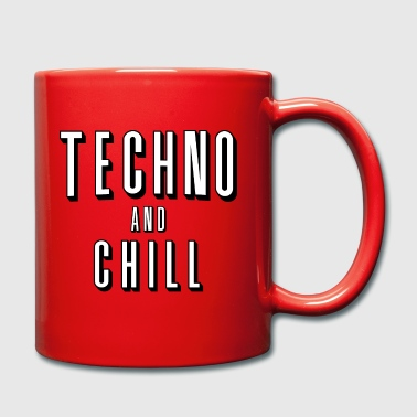 Techno and chill - Full Colour Mug