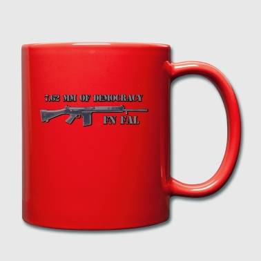 fn fal Fan T-Shirt 7,62 mm der Demokratie - Tasse einfarbig