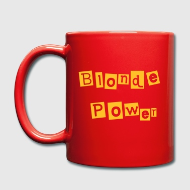 Blonde Power - Tasse einfarbig