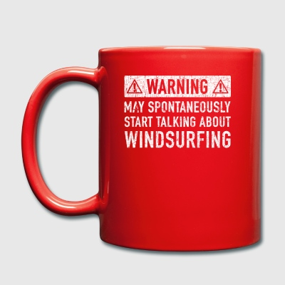 Windsurfing Gift: Order Here - Full Colour Mug