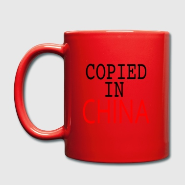 Kopierte in China - Tasse einfarbig