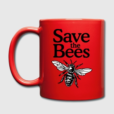 Save The Bees Beekeeper Quote Design (two-color) - Yksivärinen muki