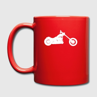 chopper  softail - Tasse en couleur