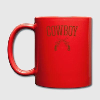 Western cowboy - Full Colour Mug
