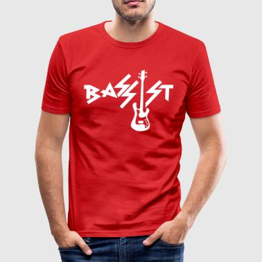 Bassist - Männer Slim Fit T-Shirt