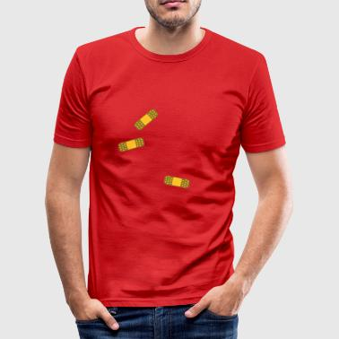 Band-aids - Slim Fit T-skjorte for menn