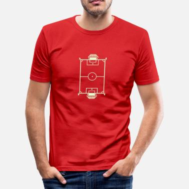 Football Pitch Pitch - Men's Slim Fit T-Shirt