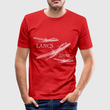 Lincolnshire Lancs Away - Herre Slim Fit T-Shirt