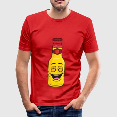 Beer Bottle - Men's Slim Fit T-Shirt