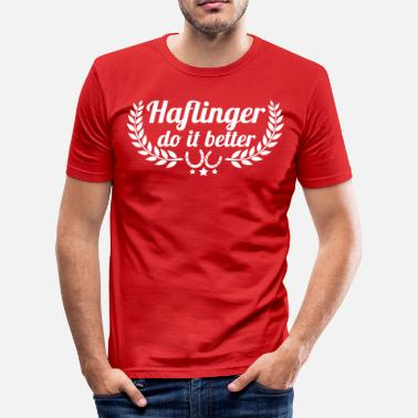 Haflinger Haflinger - Men's Slim Fit T-Shirt