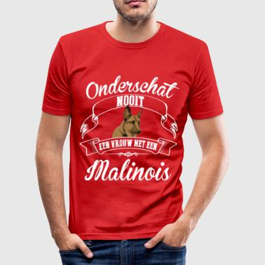 Love Malinois Malinois - Men's Slim Fit T-Shirt
