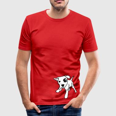 Dog - Men's Slim Fit T-Shirt