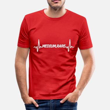 Rar medium Rare - Slim fit T-shirt mænd