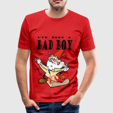 Xmas Chocked Xmas Gnome - Slim Fit T-skjorte for menn