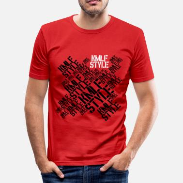 Profile Graphics KMLF-STYLE-graphics - Men's Slim Fit T-Shirt