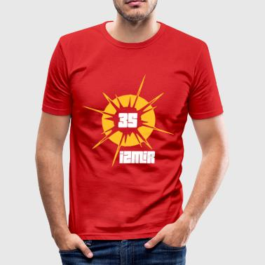 IZMIR 35 - Männer Slim Fit T-Shirt