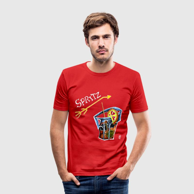 Spritz Aperol Party T-shirts Venice Italy - Energy Drink - Men's Slim Fit T-Shirt