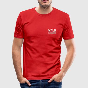 Waldstadt - Männer Slim Fit T-Shirt