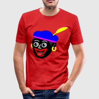 Zwarte Piet path5429 - slim fit T-shirt