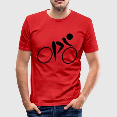 cycling os - Slim Fit T-shirt herr
