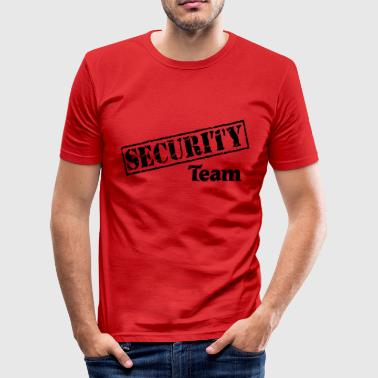 Security Team - Camiseta ajustada hombre