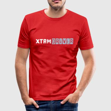 xtrm_driver_vec_2en - Men's Slim Fit T-Shirt