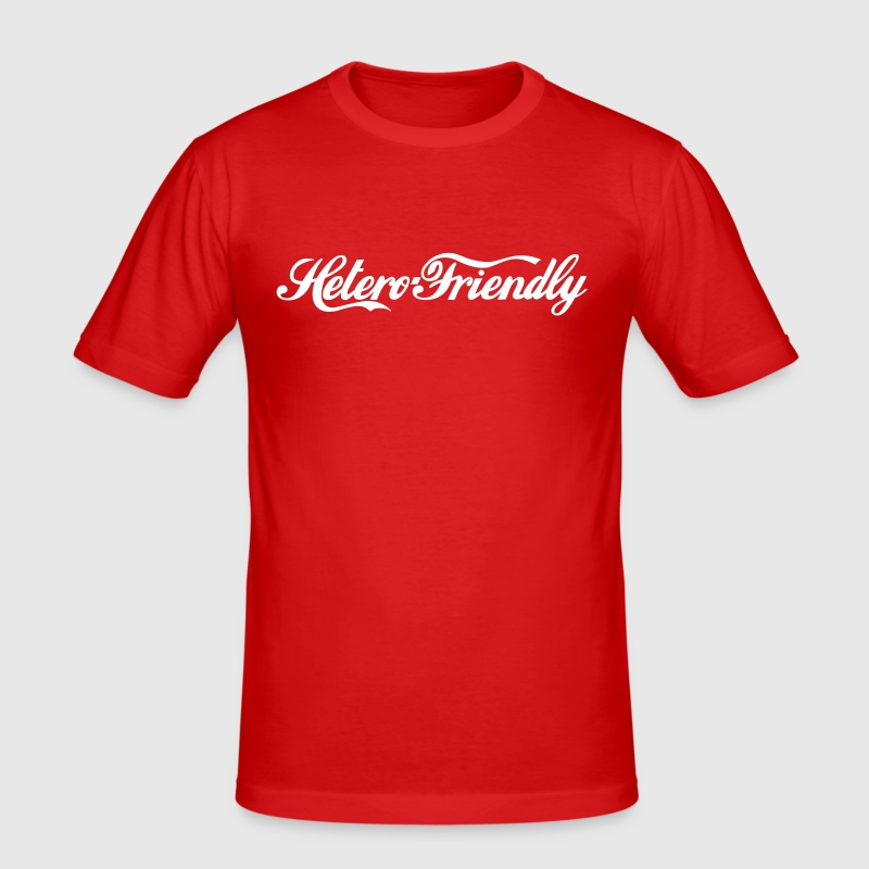 hetero friendly - T-shirt près du corps Homme