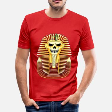 Pharaoh skull - Men's Slim Fit T-Shirt