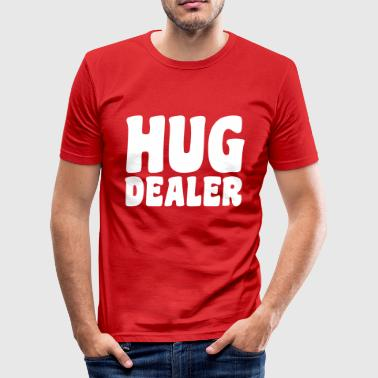 Hug - Männer Slim Fit T-Shirt