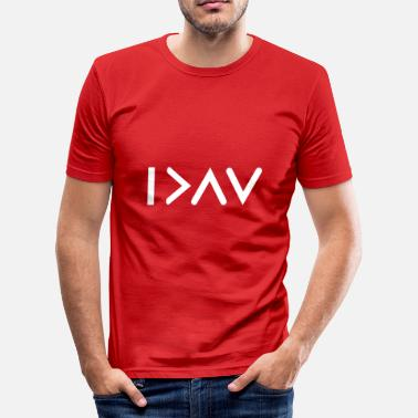 I'm greater than my highs and lows know - Men's Slim Fit T-Shirt
