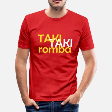 Rombe Taki Taki Romba - Slim fit T-skjorte for menn