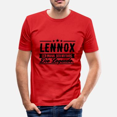 Lennox Man Myte Legend Lennox - Herre Slim Fit T-Shirt