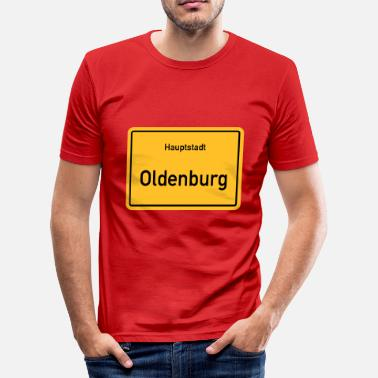 Oldenburg hoofdstad Oldenburg - slim fit T-shirt