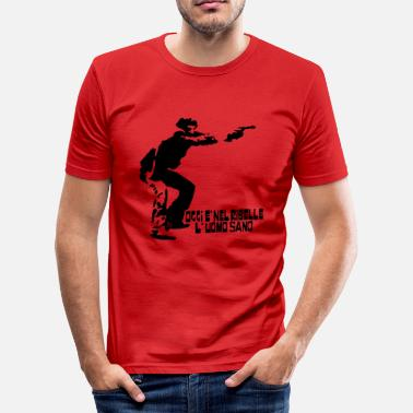 Selfie SELF - T-shirt moulant Homme