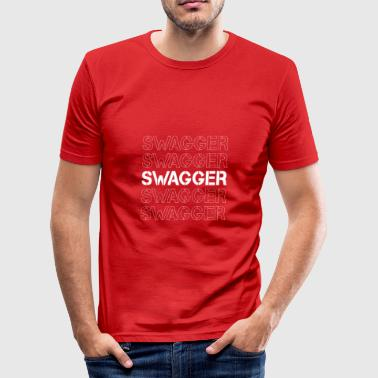 Hipster Swagger Swagger! - Camiseta ajustada hombre