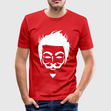Anonymous Hipster - Tee shirt près du corps Homme