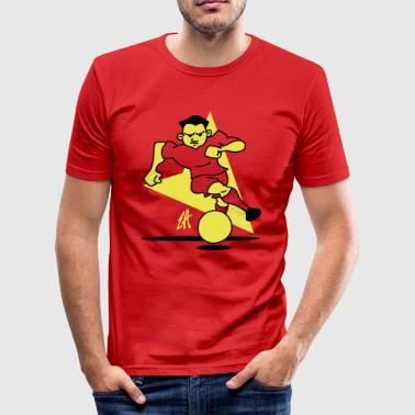Voetbal - slim fit T-shirt