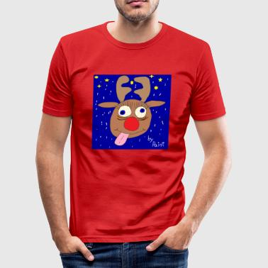 Rudolph - Men's Slim Fit T-Shirt