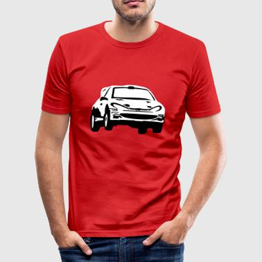 Rally car, race car - Slim Fit T-shirt herr
