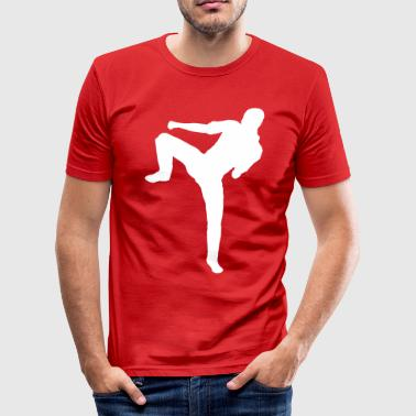 martial arts karate judo - Men's Slim Fit T-Shirt