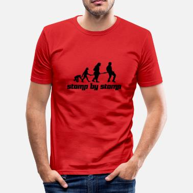 Stomp Stomp by Stomp (Vector) - Männer Slim Fit T-Shirt