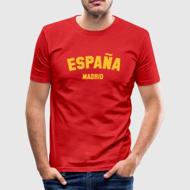 MADRID - Men's Slim Fit T-Shirt