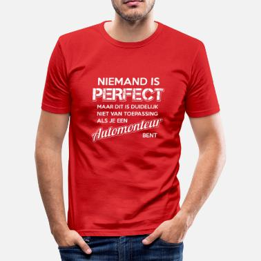 Automonteurs Perfecte Automonteur - slim fit T-shirt