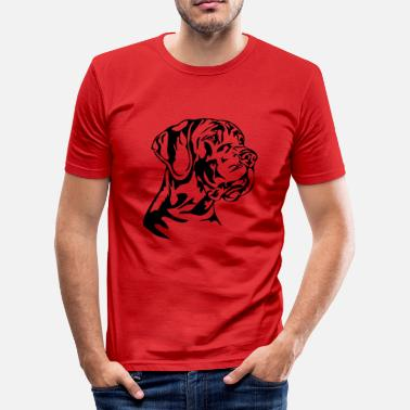 Name German German Mastiff - Men's Slim Fit T-Shirt